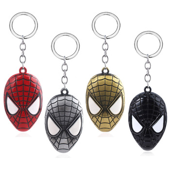 2019 Hot Sale Avengers SpiderMan Far From Home Mask Keychains