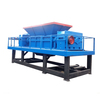 Mobile Double Shaft Waste Iron Car Shell Metal Shredder Machine