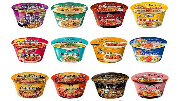Großhandel instant-nudeln multiflavoured beliebte Chinesische instant-nudeln verpackung tasse instant-nudeln ramen