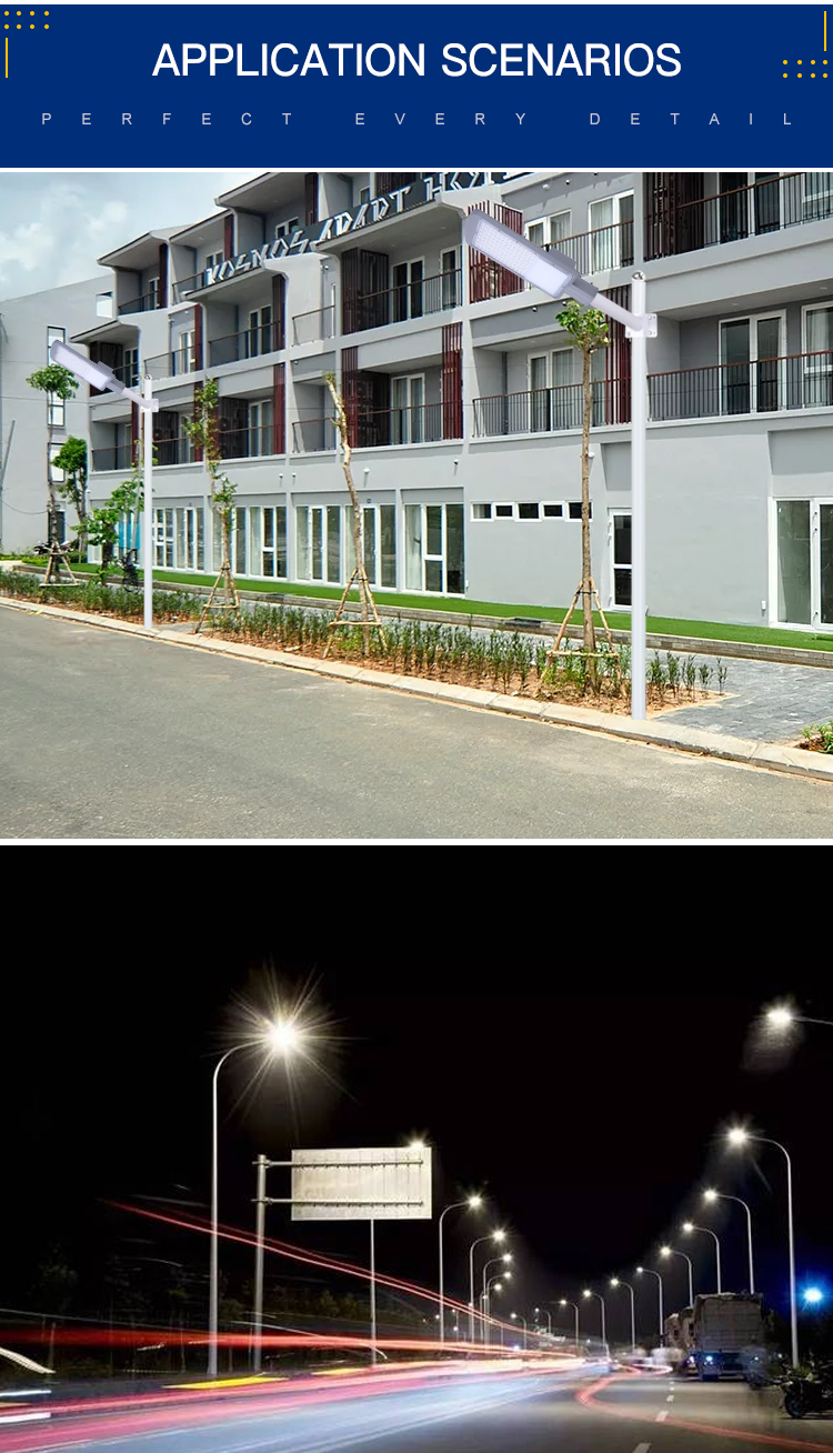Lumen Tinggi High Power Outdoor Smd 20W 30W 50W 100W 150W Led Street Light