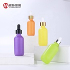 Glass Clear Bottle Glassglassglass Custom Colors Glass Pipette Clear Bottle 60ml Essential Oil Bottle With Dropper For E Liquid
