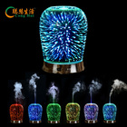Top sale room aromatic diffuser hotel ultrasonic glass essential oil nebulizing humidifier home aroma diffuser