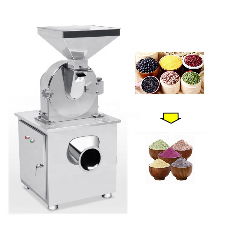Stainless Steel Commercial Turmeric Spice Powder Grinder Grinding Machine