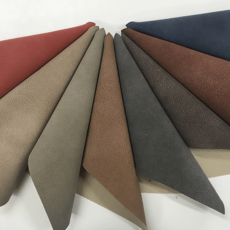 grey PU upholstery super suede fabric <strong>leather</strong> for car seat cover