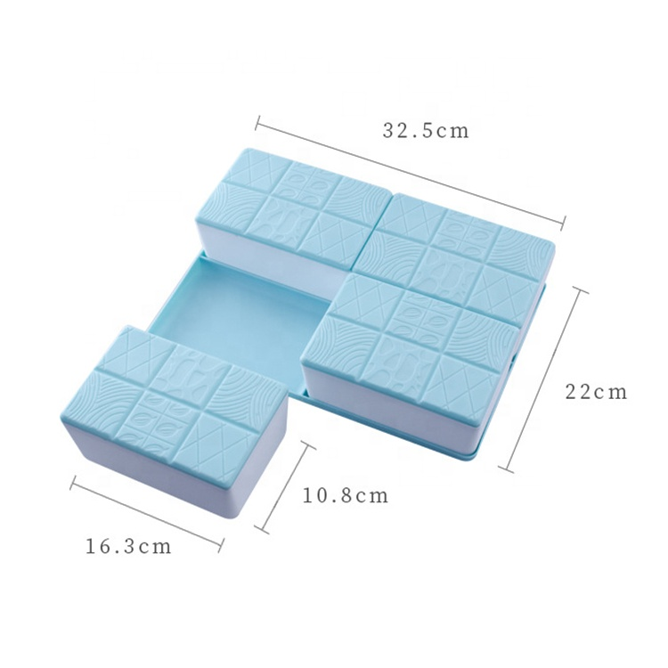 AFTCE172(1) Rectangle Plastic Food Container Nuts Candy Packing Box