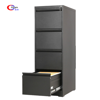 Steel Fireproof Cabinets Waterproof Metal Lock Compact Luxury Filing Multiple Storage 4 Drawer File Cabinet