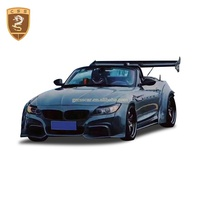 Z4 E89 Auto Car Bumper for BMW 09-15 ROWEN Style Wide Body Kits Carbon Fiber With Fiberglass Material