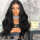 Partschoice Cosplay Deep Wave Synthetic Lace Front Wig 26 Inches Hair Machine Made