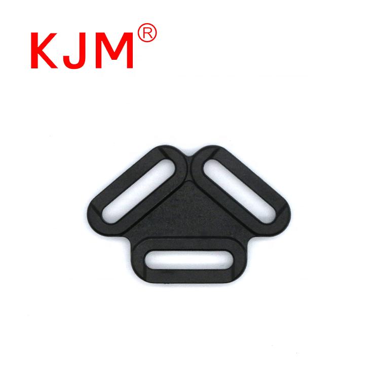 Индивидуальные POM Пластиковые регулируемые треугольные пряжки подтяжки для домашних животных грудь обратно