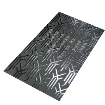 Black Card Spot UV Business Cards Debossed Printing