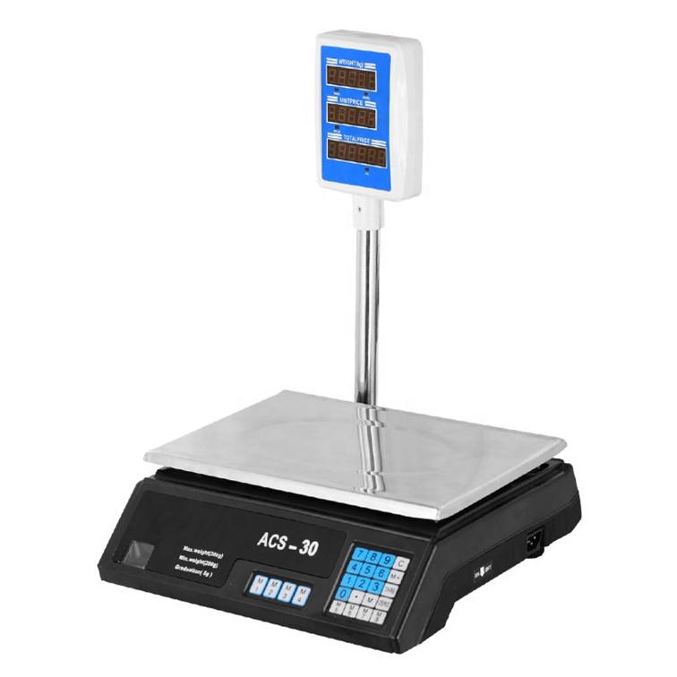 ميزان رقمي 30 كجم لقياس الوزن الكهربائي للحوسبة