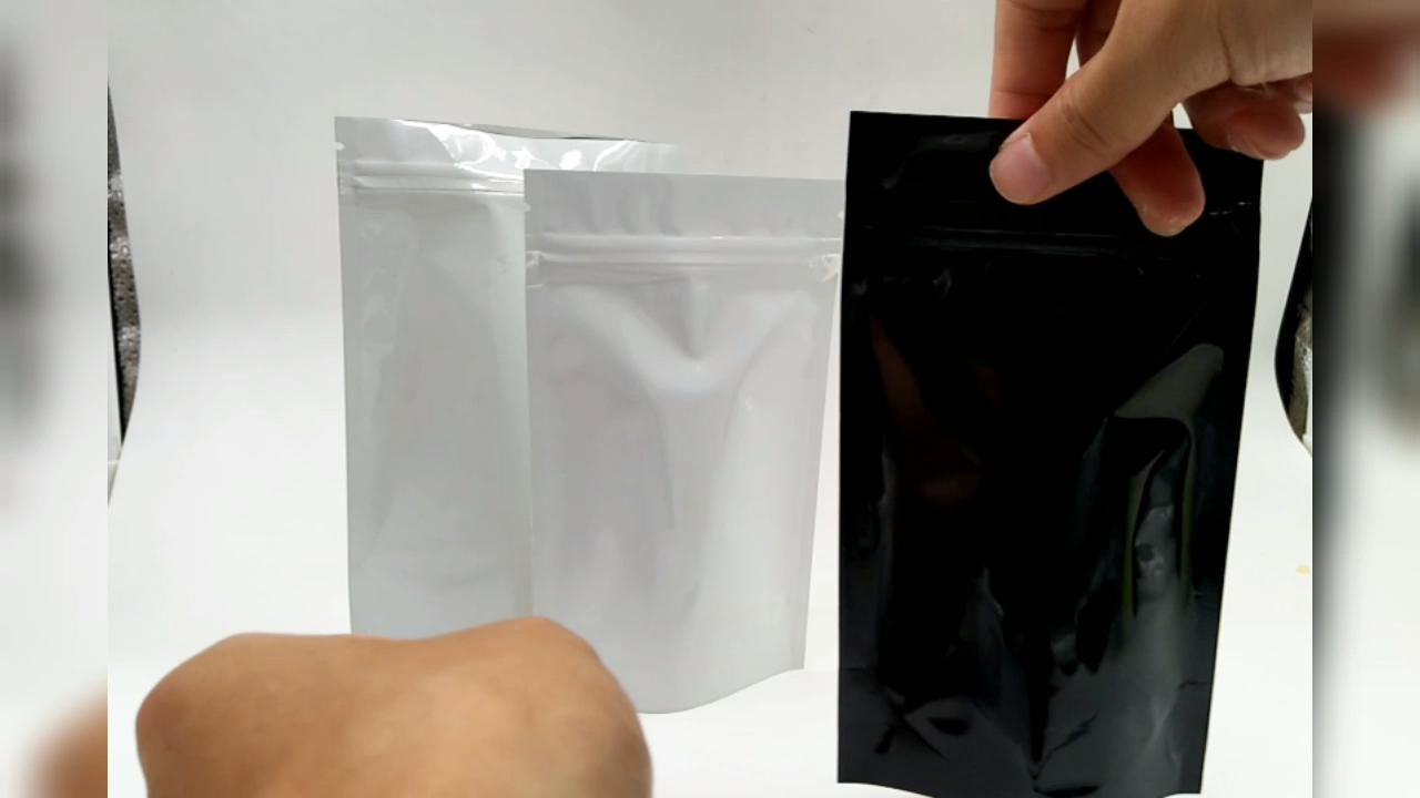 Mylar Bau Bukti Tas Buram Mylar Satu Sisi Foil Aluminium Medis Tas Kemasan