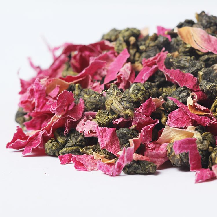 High Quality Chinese Tea Organic Hibiscus Rooibos Flavored Vanilla Oolong Tea - 4uTea   4uTea.com