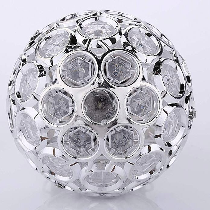 Opknoping Crystal Ball Kroonluchter Helder Acryl Smooth Hearted Bead Drop voor Cake Stand Kroonluchter