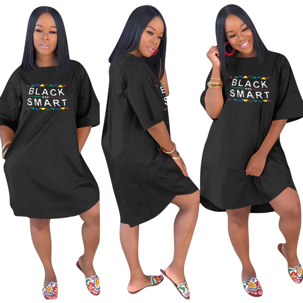 HGL1202  Polyester Short sleeve Round collar Casual Women T-shirt Dress