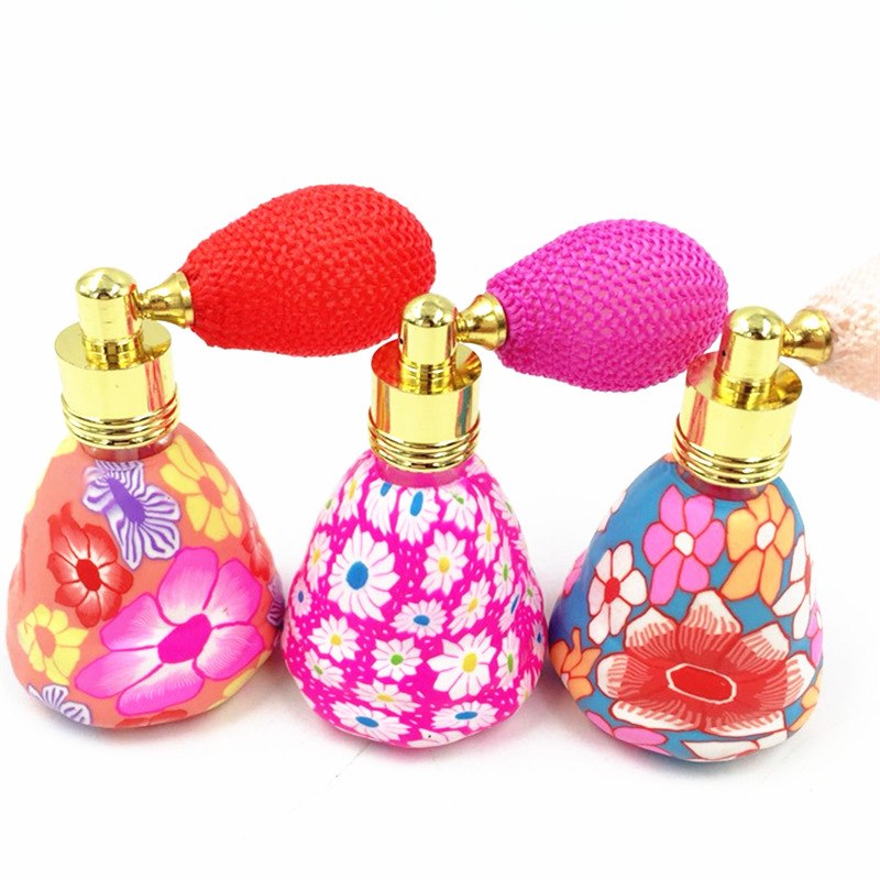 15ml Balloon <strong>Empty</strong> <strong>Perfume</strong> <strong>Bottles</strong> Refillable <strong>Bottle</strong> Atomizer Spray Polymer Clay Spray Scent Pump <strong>Perfume</strong> <strong>Bottle</strong>