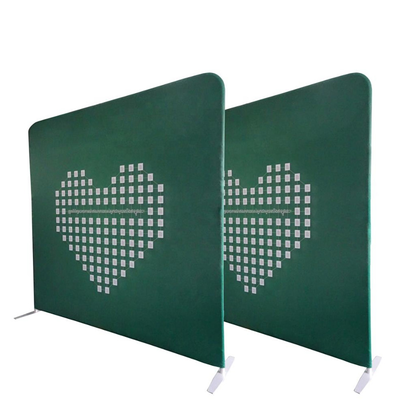 Custom Logo advertising straight Backdrops tension fabric <strong>display</strong>