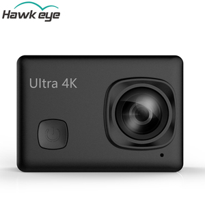 4K 30FPS action camera with patent Hawk-eye brand high-tech sport camera support wifi and remote control.