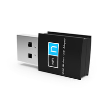 Mini 300Mbps USB Wifi RTL8192 adaptador de Internet <span class=keywords><strong>802</strong></span>,<span class=keywords><strong>11</strong></span> b/g/n/LAN dongle para PC ordenador de escritorio