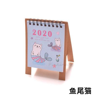 2020 новый год каваи мультяшный стол календари мини Настольный Календарь Организатор дня Планировщик книга 2020 календарь(Китай)
