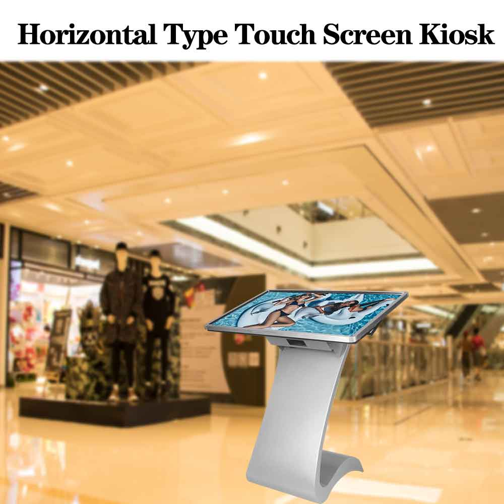 55 Inch Floor Stand Medium Speler Computer Controller Touch Screen Mini Pc