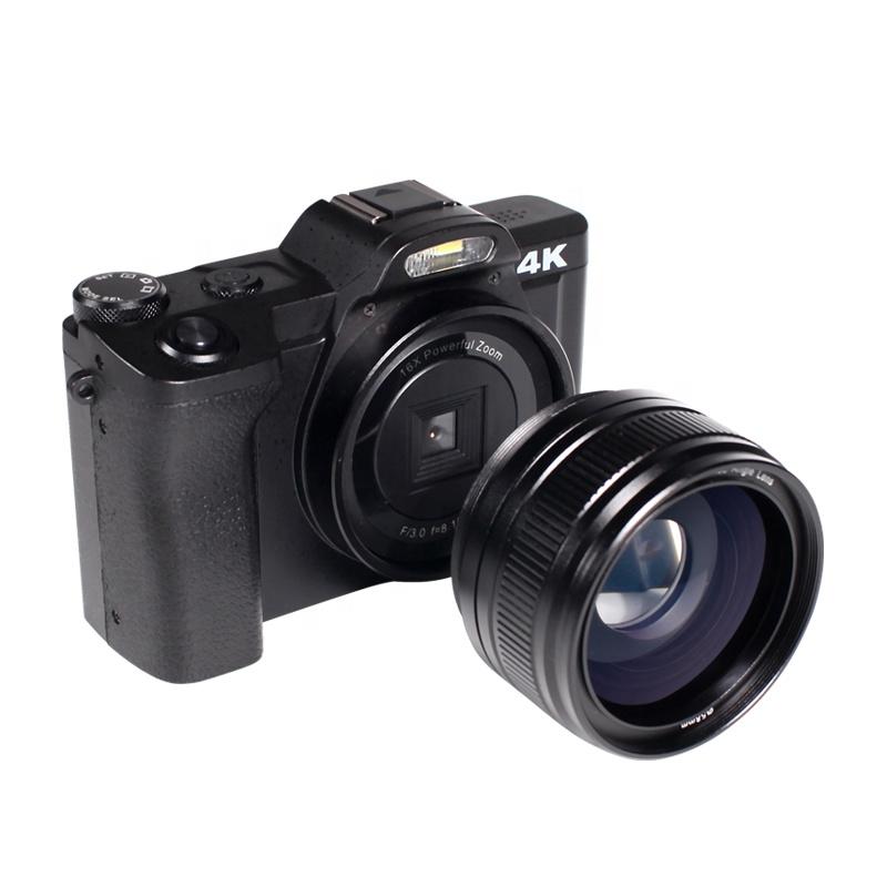 48MP 3.5 inch TFT LCD dslr digital cameras professional 4k camera wifi