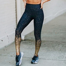 Großhandel nylon mode shiny frauen workout fitness legging
