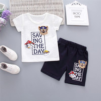 Wholesale Korean Summer Baby Boy Clothing Shorts And T shirt Set From Shopping Online Websites