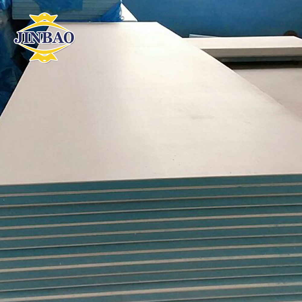JINBAO 4 feet *8 feet white color high quality price of rigid pvc plate for sales