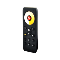 6 zones CCT High-end 868MHz RF Remote control with Touch Wheel WS-6002