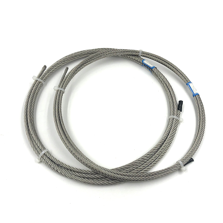 6x19+FC/IWS galvanized steel wire rope DIN3060