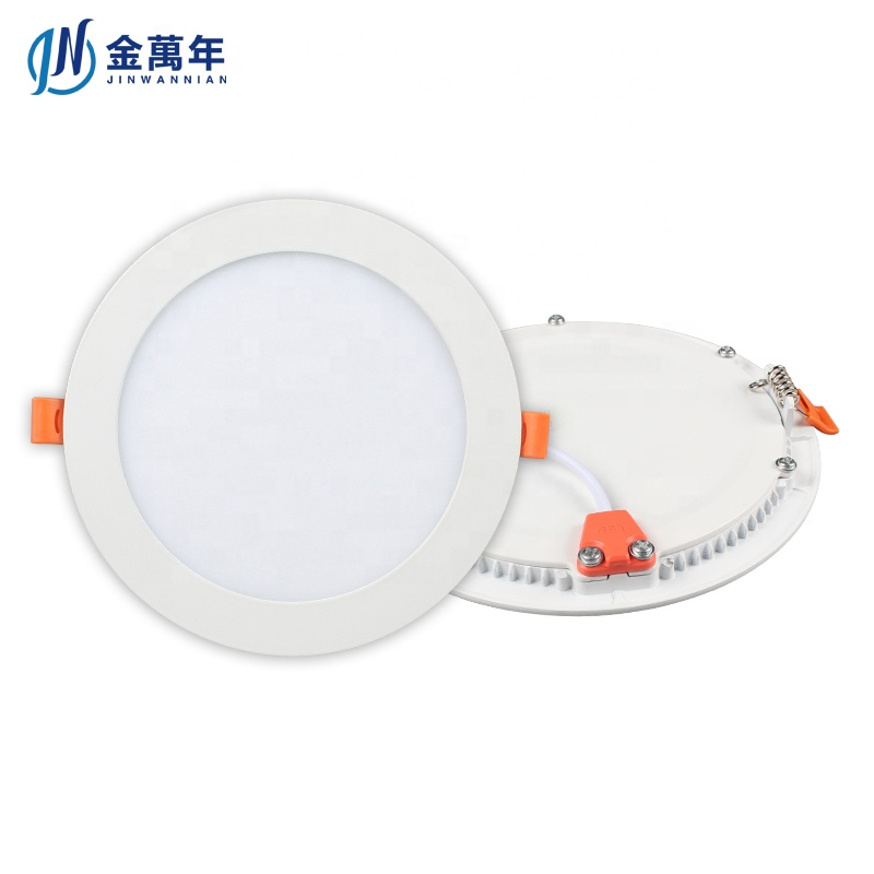 Manufacture Cheap SKD LED Downlight 12W LED Slim Panel Light 80Lm/W 2 Years Warranty