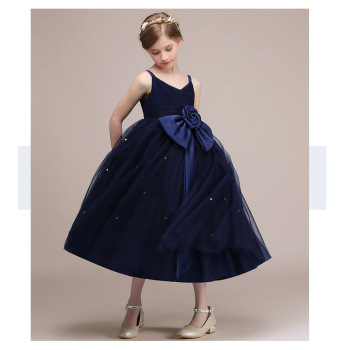 Flower Girls Dresses Perfect Spring Autumn Kids Bridesmaid For Party Dress Summer Children Clothes Princess Dress For Girls