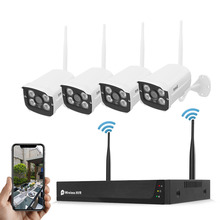 JideTech CCTV Wifi Kamera <span class=keywords><strong>Home</strong></span> Security HD 1080P 4CH <span class=keywords><strong>Wireless</strong></span> Security Kamera System