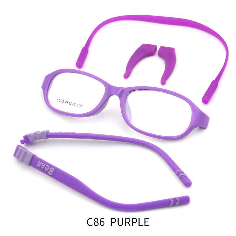Новая модель детские синие световые блокирующие детские оптические очки оправы