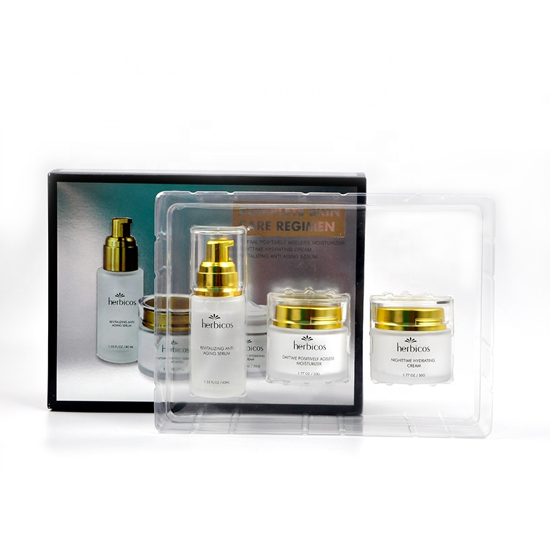 Luxurious Skin Care Set,Anti-aging Serum Moisturizing Hydrating Day and Night Face <strong>Cream</strong>