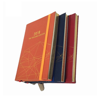Factory wholesale high quality custom color edge notebook vintage leather journal book