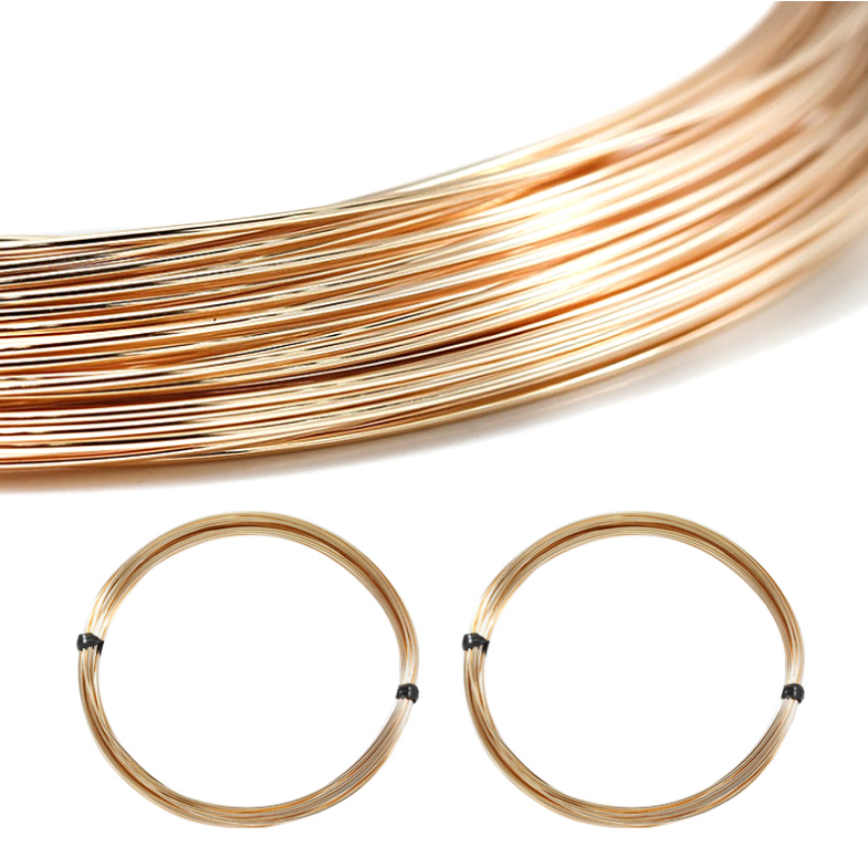 US Imported 14K Gold Filled Wire Wholesale Super Quality Jewelry Making 14K Gold Wire