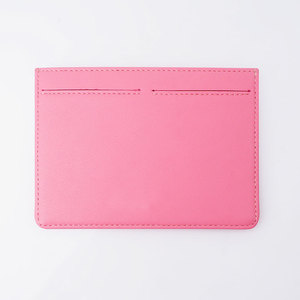 Factory OEM Custom Gift leather Credit Card Holder ID Card Holder