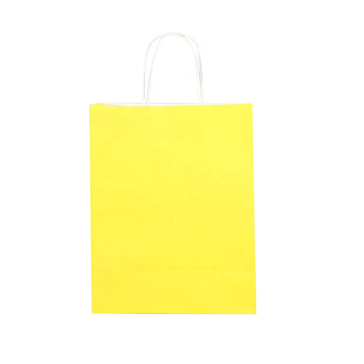 kraft paper bag with handle