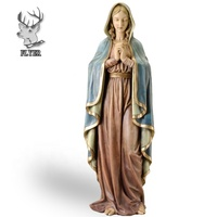 Virgin Mary Jesus Sculpture Catholic Religious Statues For Sale