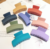 8.5cm plastic hair claw simple bath makeup clips candy sweet girls hair accessories headband women hair holder crab combs
