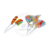 Assorted Multi-Colored Rainbow Hard Lollipop Candy