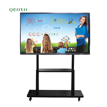 "55""65""75""86""100""uboard portable interactive whiteboard ir skd for classroom solution white board stand"