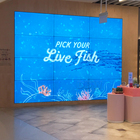 Wall 55 Video Wall Indoor 46 49 55 Inch 3x3 4K Oled Samsung Video Wall Panels 2x2 Frame Cctv System Lcd Video Wall