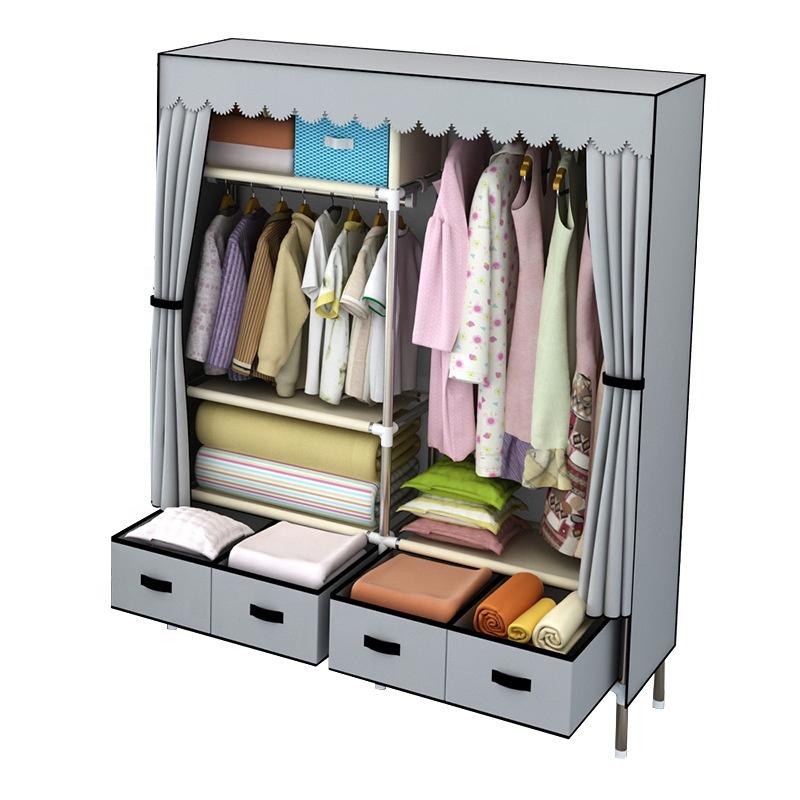 น้ำหนักเบาและ Strong ผ้าตู้เสื้อผ้าลิ้นชัก Amoires & ตู้เสื้อผ้าห้องนอนตู้เสื้อผ้า