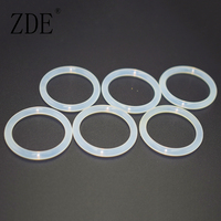 Heat Resistant Clear Silicone O Ring Seal