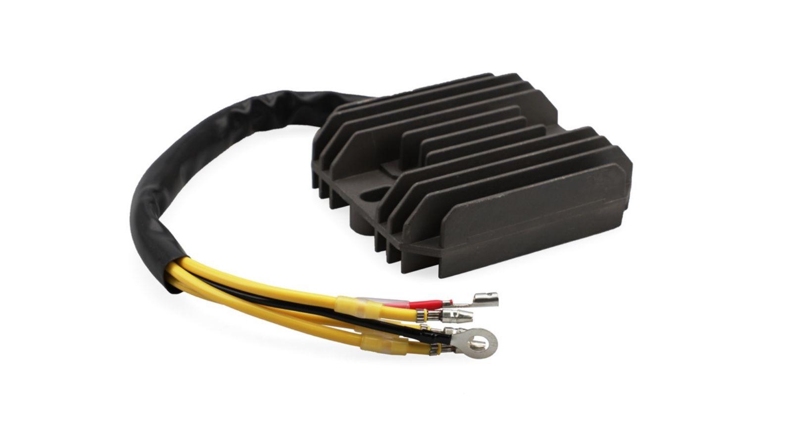 4 Wires 12V Motorcycle Voltage Rectifier Regulator Stabilizer