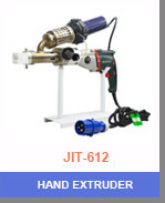 HDPE PP Liner Hot Air Plastic Hand Extruder Welding Gun with 1300W Drive Motor
