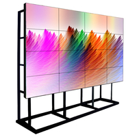 advertising frameless ad monitor 46 inch full HD seamless 3x3 tv lcd display wall cheap video wall